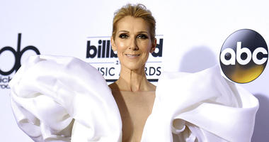 In this May 21, 2017 file photo, Celine Dion poses in the press room at the Billboard Music Awards in Las Vegas.
