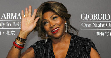 In this Thursday, May 31, 2012 file photo Tina Turner arrives for the Giorgio Armani fashion show held in Beijing.