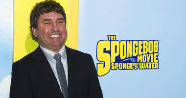 """FILE - In this Jan. 31, 2015 file photo, SpongeBob SquarePants creator Stephen Hillenburg attends the world premiere of """"The SpongeBob Movie: Sponge Out Of Water"""" in New York."""