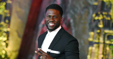 "FILE - In this Dec. 11, 2017 file photo, Kevin Hart arrives at the Los Angeles premiere of ""Jumanji: Welcome to the Jungle"" in Los Angeles."