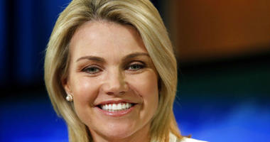 FILE - In this Aug. 9, 2017, file photo, State Department spokeswoman Heather Nauert speaks during a briefing at the State Department in Washington.