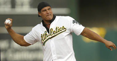 Former Oakland Athletics player Jose Canseco