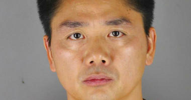 FILE - This 2018 file photo provided by the Hennepin County Sheriff's Office in Minneapolis shows Chinese billionaire Liu Qiangdong, also known as Richard Liu, the founder of the Beijing-based e-commerce site JD.com, who was arrested Aug. 31, 2018, in Min