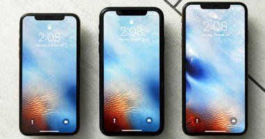 FILE - This Oct. 22, 2018, file photo shows the iPhone XS, from left, iPhone XR, and the iPhone XS Max in New York.