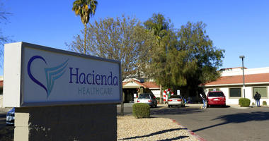 This Friday, Jan. 4, 2019, photo shows Hacienda HealthCare in Phoenix.
