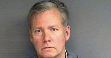 """Chris Hansen, former host of the television program """"To Catch a Predator,"""" was arrested Monday in his hometown of Stamford, on charges he he wrote bad checks for $13,000 worth of marketing materials."""