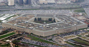 FILE - This March 27, 2008, file aerial photo shows the Pentagon in Washington.
