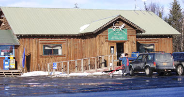 In this Feb. 26, 2019 photo is the Fritz Creek General Store, shown near Homer, Alaska.