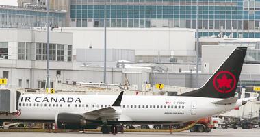 An Air Canada Boeing 737 Max 8 aircraft