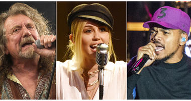Robert Plant, Miley Cyrus and Chance the Rapper