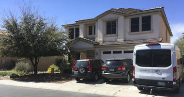 The home of Machelle Hobson in Maricopa, Ariz.