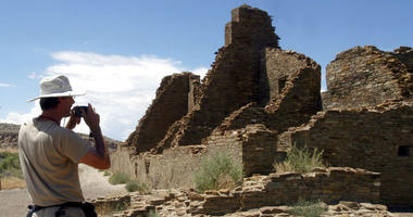 Native American leaders are banding together to pressure U.S. officials to ban oil and gas exploration around a sacred tribal site that features massive stone structures and other remnants of an ancient civilization.