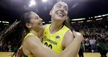 WNBA basketball playoff semifinal