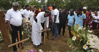 Sr Lanka funeral service