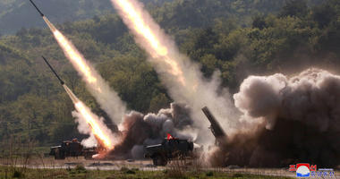 North Korean test of military weapon systems.