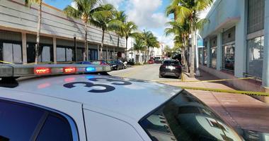 Miami Beach police investigators.