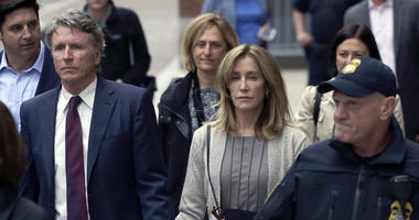 Felicity Huffman with her brother Moore Huffman Jr.