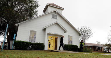 First Baptist Church in Sutherland Springs, Texas.