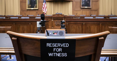 The witness chair in the House Judiciary Committee