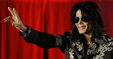 This March 5, 2009 file photo shows Michael Jackson as he announces ten live concerts at the London O2 Arena in south London. Tuesday, June 25, 2019, marks the tenth anniversary of Jackson's death.