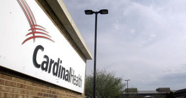 This April 30, 2007, file photo, shows the headquarters of Cardinal Health in Dublin, Ohio.