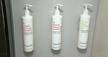 Marriott bans little shampoo bottles