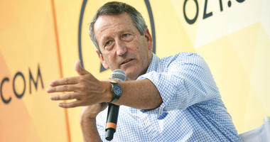 Mark Sanford speaks at OZY Fest.