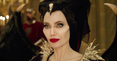 "his image released by Disney shows Angelina Jolie as Maleficent in a scene from ""Maleficent: Mistress of Evil."""
