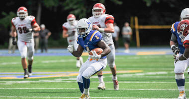 Widener running back Chris Randle