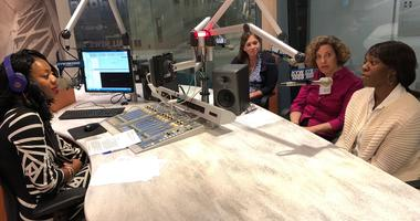 Temple Professors Judith Levine, stay-at-home mom and Mom's Club past President Amanda Parashir, and working mom and newsmaker Myia Hurst discuss modern-day momming with Cherri Gregg.