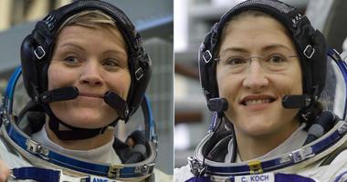 Anne McClain and Christina H. Koch