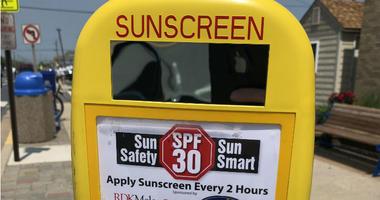 Avalon Sunscreen Dispenser