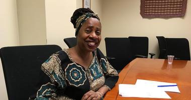 Dr. Ayesha Imani, CEO of Sankofa Freedom Academy in Kensington, Philadelphia