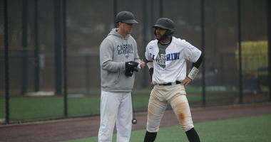 Nick Weisheipl (left) has been the only head coach in the history of the Cabrini baseball program.