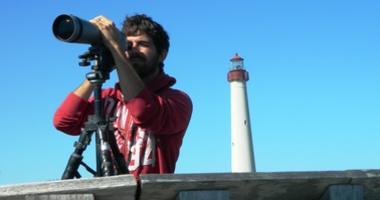 Birder and Lighthouse