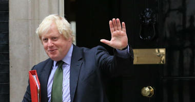 Foreign Secretary Boris Johnson and Secretary of State for Exiting the European Union David Davis are shown in 2016. Both have resigned from the government.