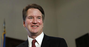 In this July 26, 2018, file photo, Supreme Court nominee Judge Brett Kavanaugh on Capitol Hill in Washington.