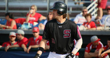 Cole Beeker has set a program record this season for Swarthmore with 64 RBI.