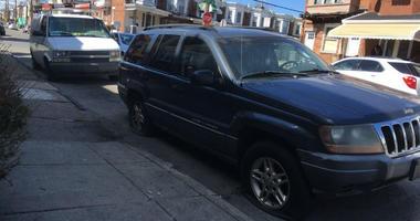 Police believe two men were responsible for slashing the tires of dozens of cars along seven blocks of Media Street in West Philadelphia.