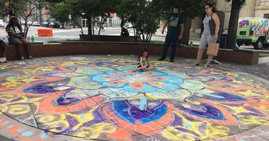 Art station at Philly Free Streets 2018