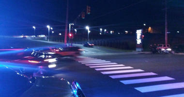 A Philadelphia police officer has been taken to Jefferson Torresdale Hospital following a crash between his motorcycle and another vehicle.