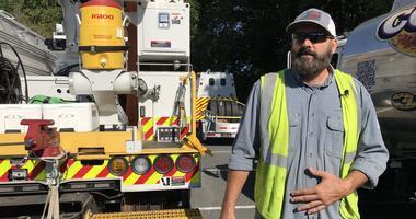 Utility crews go to Florida ahead of Hurricane Dorian