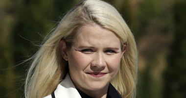 In this Sept. 13, 2018, file photo, Elizabeth Smart arrives for a news conference in Salt Lake City.