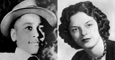 Left: Emmett Louis Till. Right: Carolyn Byant