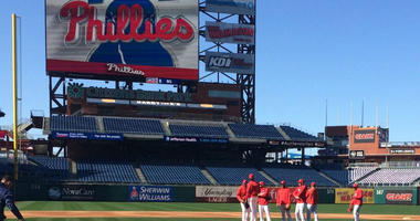 On Tuesday, the Phillies held their first workout of 2019 on their home field, and the newest Phillie admitted it was an a bit of an adjustment walking out of the home dugout.