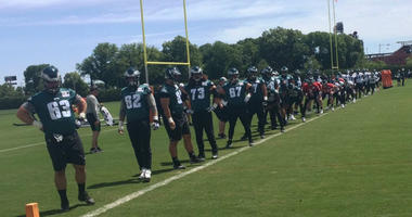 Doug Pederson gave his Carson Wentz the green light to hit the field for this week's workouts.