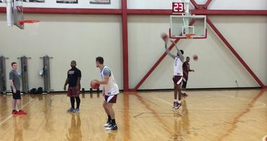 It isn't exactly a normal situation, but the Temple Owls seem to be going about business as usual.
