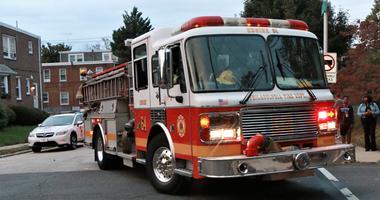 Philadelphia fire truck