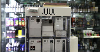 E-cigarettes made by Juul