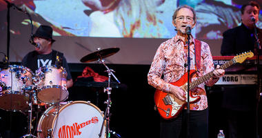 Mickey Dolenz (left) and Peter Tork of The Monkees